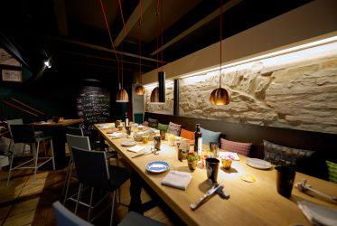 sternerestaurant in osnabr ck kolde architektur. Black Bedroom Furniture Sets. Home Design Ideas